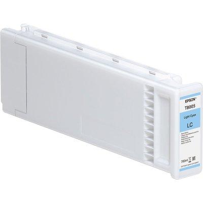 Epson T800500 UltraChrome PRO Light Cyan Ink Cartridge (700 ml)