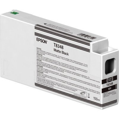 Epson T834800 UltraChrome HD Matte Black Ink Cartridge (150 ml)