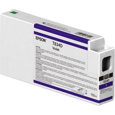 Epson T834D00 UltraChrome HD Violet Ink Cartridge (150 ml)