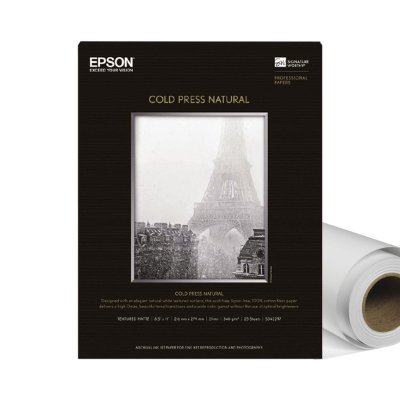Epson Cold Press Natural Roll