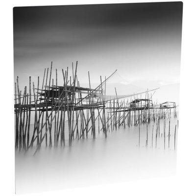 ChromaLuxe Matte Clear/Silver Metal Photo Panel