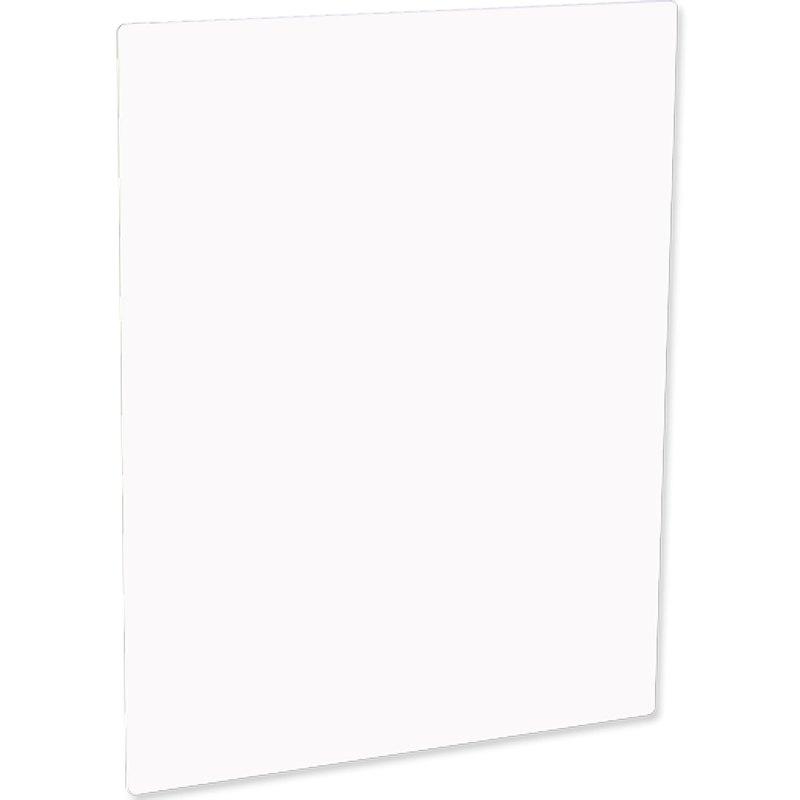 ChromaLuxe Matte White Metal Photo Panel