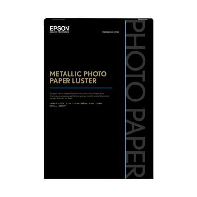 Epson Mettallic Pohoto Luster Paper 13x19