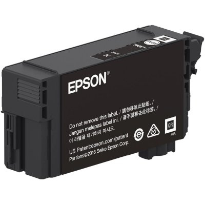 Epson T40V120 UltraChrome XD2 Black Ink Cartridge (50 mL)