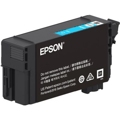 Epson T40V220 UltraChrome XD2 Cyan Ink Cartridge (26 mL)
