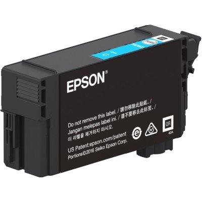 Epson T40W220 UltraChrome XD2 Cyan Ink Cartridge (50 mL)