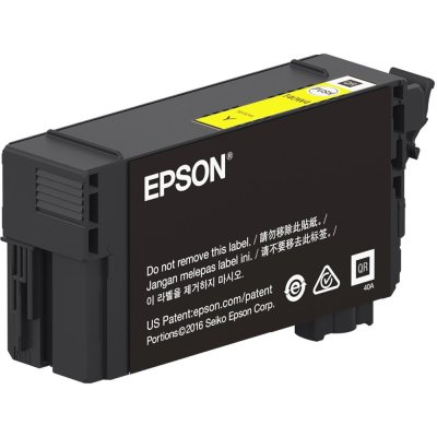 Epson T40W420 UltraChrome XD2 Yellow Ink Cartridge (50 mL)