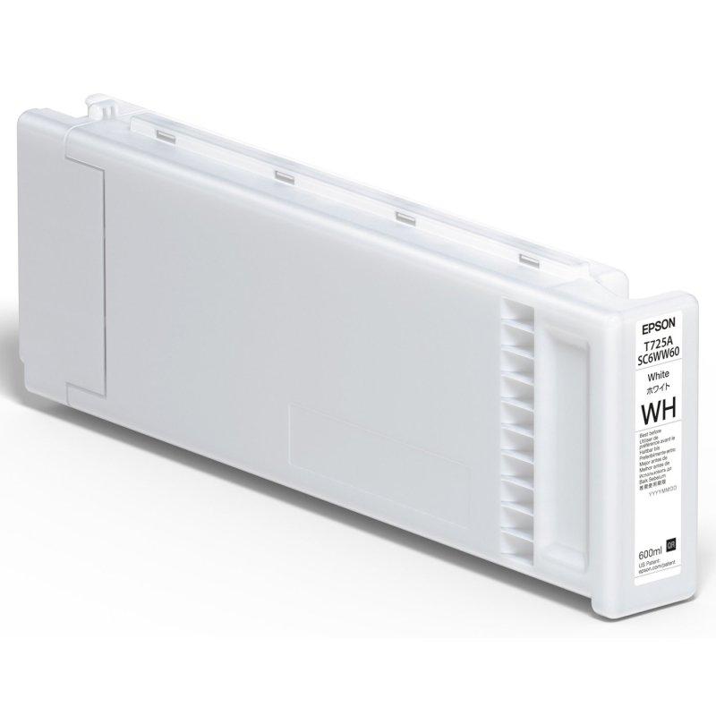 Epson T725100 UltraChrome DG White Inks (600 mL)