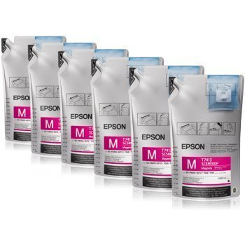 Epson T741300 UltraChrome DS Magenta Ink 1 Liter (6 Pack)