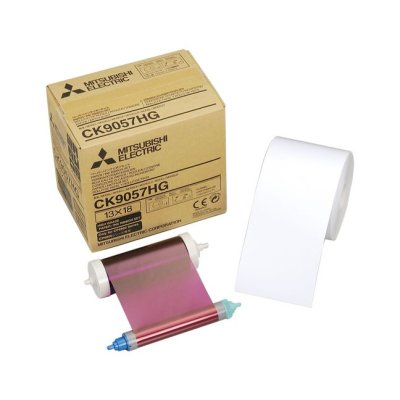 Mitsubishi CK-9057HG 5x7 Paper & Ribbon Media Kit for CP-9800DW & CP-9810DW Dye-Sub Printers