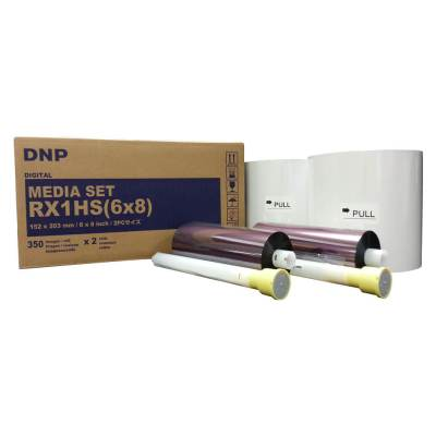 "DNP DS-RX1HS 6x8"" Dye Sub Printer Media Kit (2 Rolls, 700 Prints)"