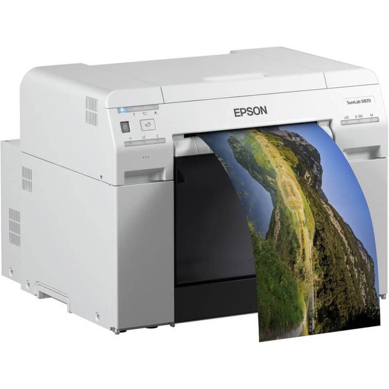 Epson SureLab D870 Professional Minilab Production Photo Printer