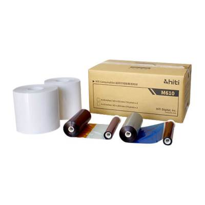 "HiTi M610 4x6"" Photo Printer Print Kit (2 Rolls, 1500 Prints)"