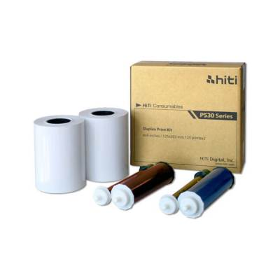 "HiTi P530D 6x8"" Duplex Printer Print Kit (2 Rolls, 500 Prints)"