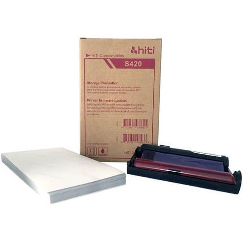 "HiTi S420 4x6"" Photo Printer Print Kit (50 Prints)"