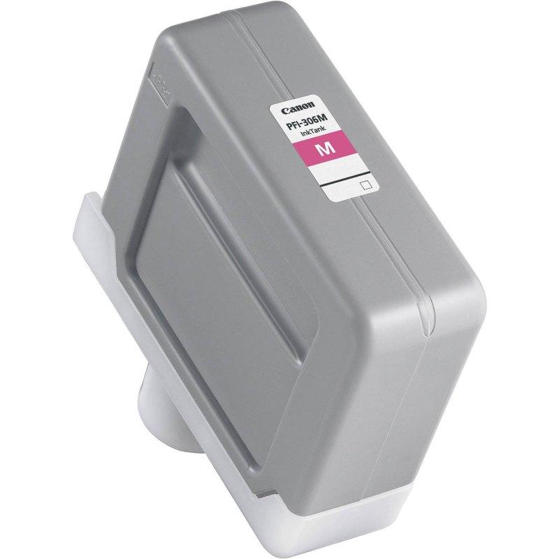 Canon PFI-306M Magenta Ink Cartridge (330 ml) for iPF8300, iPF8300S, iPF8400, iPF8400S, iPF8400SE, iPF9400, iPF9400S Printers