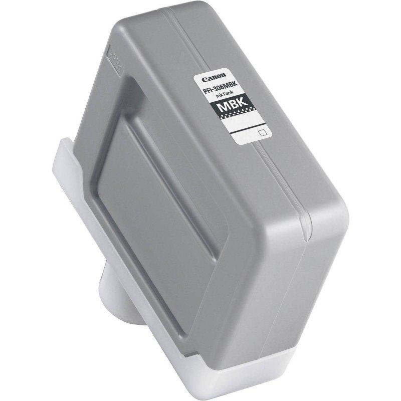 Canon PFI-306MBK Matte Black Ink Cartridge (330 ml) for iPF8300, iPF8300S, iPF8400, iPF8400S, iPF8400SE, iPF9400, iPF9400S Printers (Copy)
