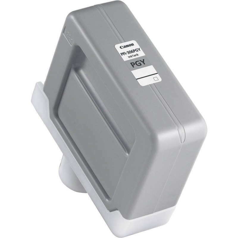 Canon PFI-306PGY Photo Gray Ink Cartridge (330 ml) for iPF8300, iPF8300S, iPF8400, iPF8400S, iPF8400SE, iPF9400, iPF9400S Printers