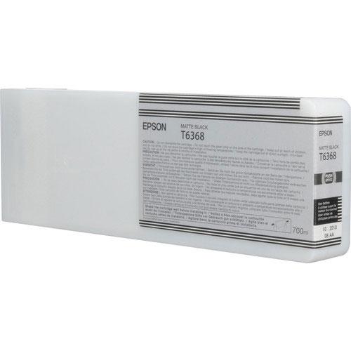Epson T636800 UltraChrome HDR Matte Black Ink Cartridge (700 ml)