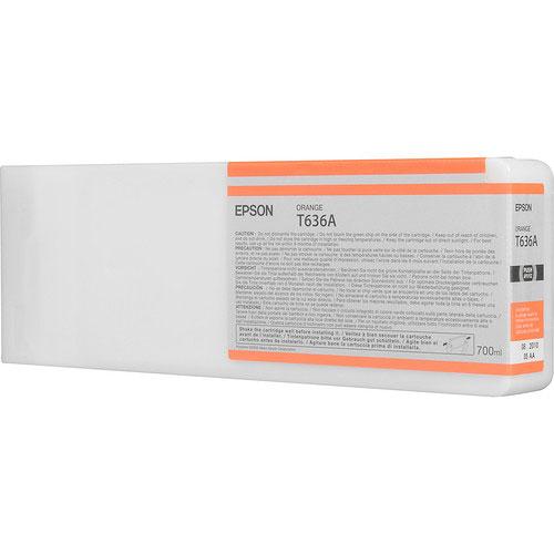 Epson T636A00 UltraChrome HDR Orange Ink Cartridge (700 ml)