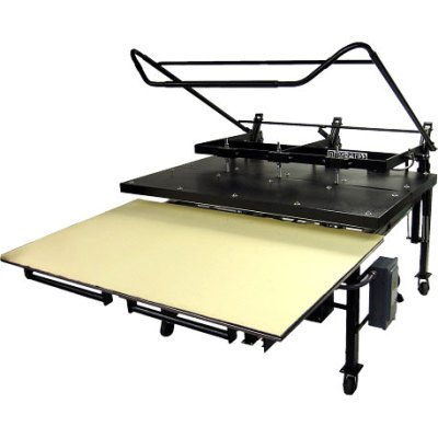 "Geo Knight Maxi Press 44"" x 64'' Multipurpose Large Format Manual Heatpress"