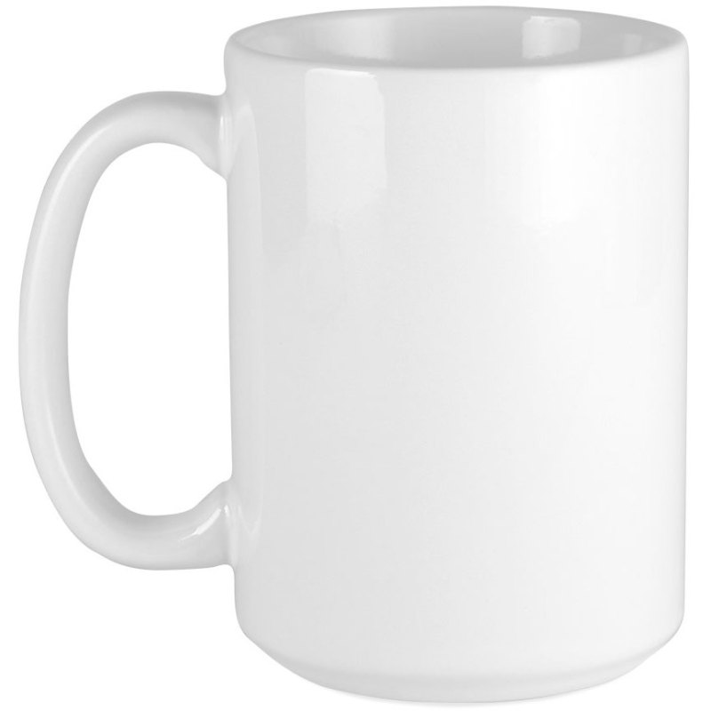 Blank Ceramic Mug - White 15oz. (36 QTY)