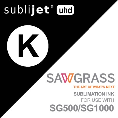 Sawgrass SubliJet-UHD SG500/SG1000 Sublimation Black Ink Cartridges 31 ml