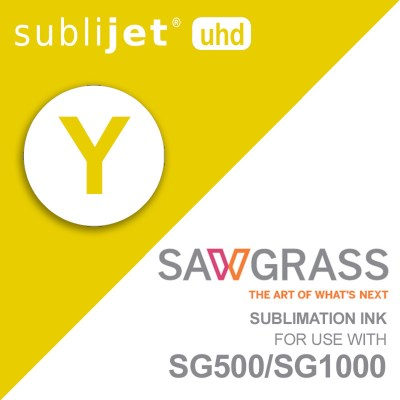 Sawgrass SubliJet-UHD SG500/SG1000 Sublimation Yellow Ink Cartridges 31 ml
