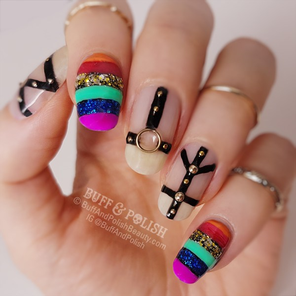 Gay Pride Rainbow Nail Polish