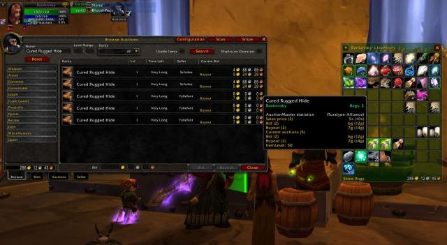 WoW Addon: AuctionMaster