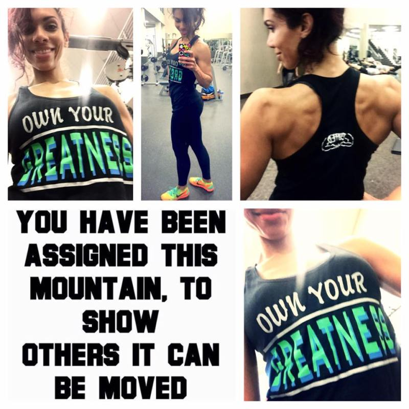 Bekah Baker - Own Your Greatness collage