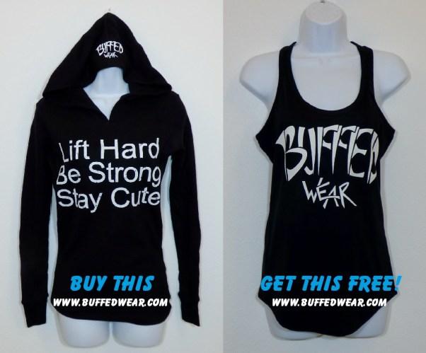 Women's Thermal hoodie-BuffedWear