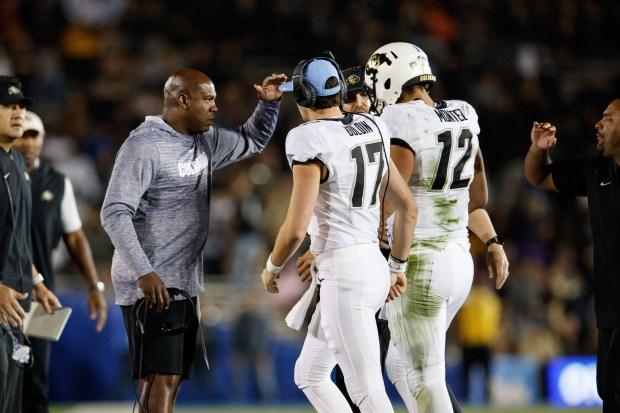 Colorado Buffaloes head coach Mel Tucker ...