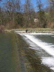Jez Templ - řeka Morava
