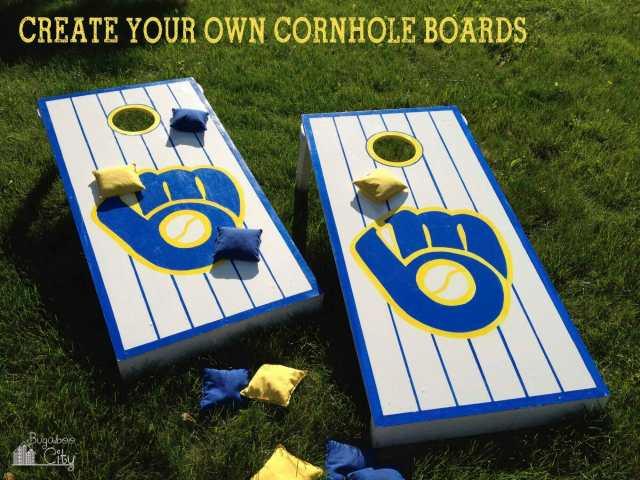 CreateYourOwnCornholeBoards