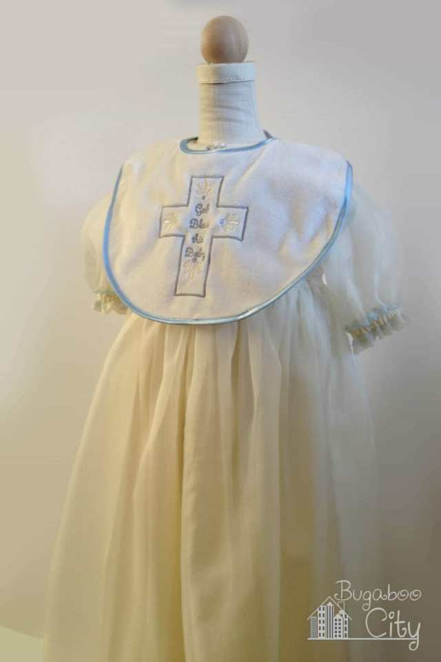 Baptism gown for baby boy