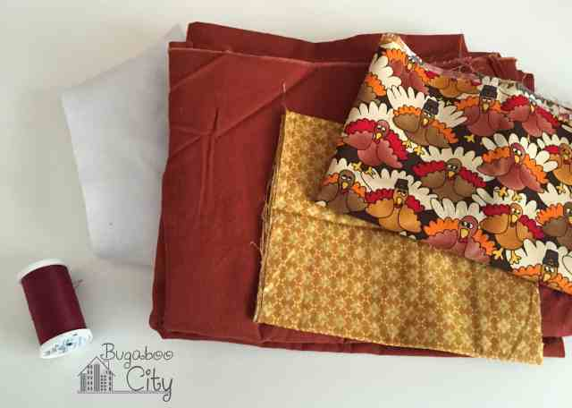 Thanksgiving Placemats materials needed