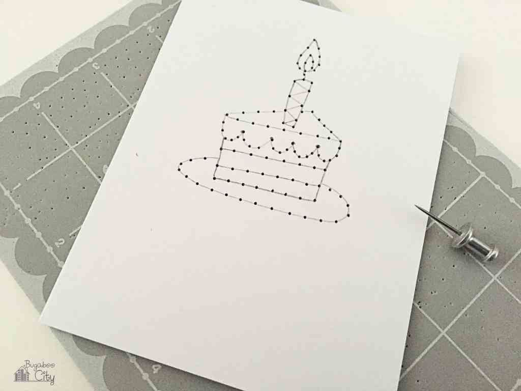 DIY Embroidered Card