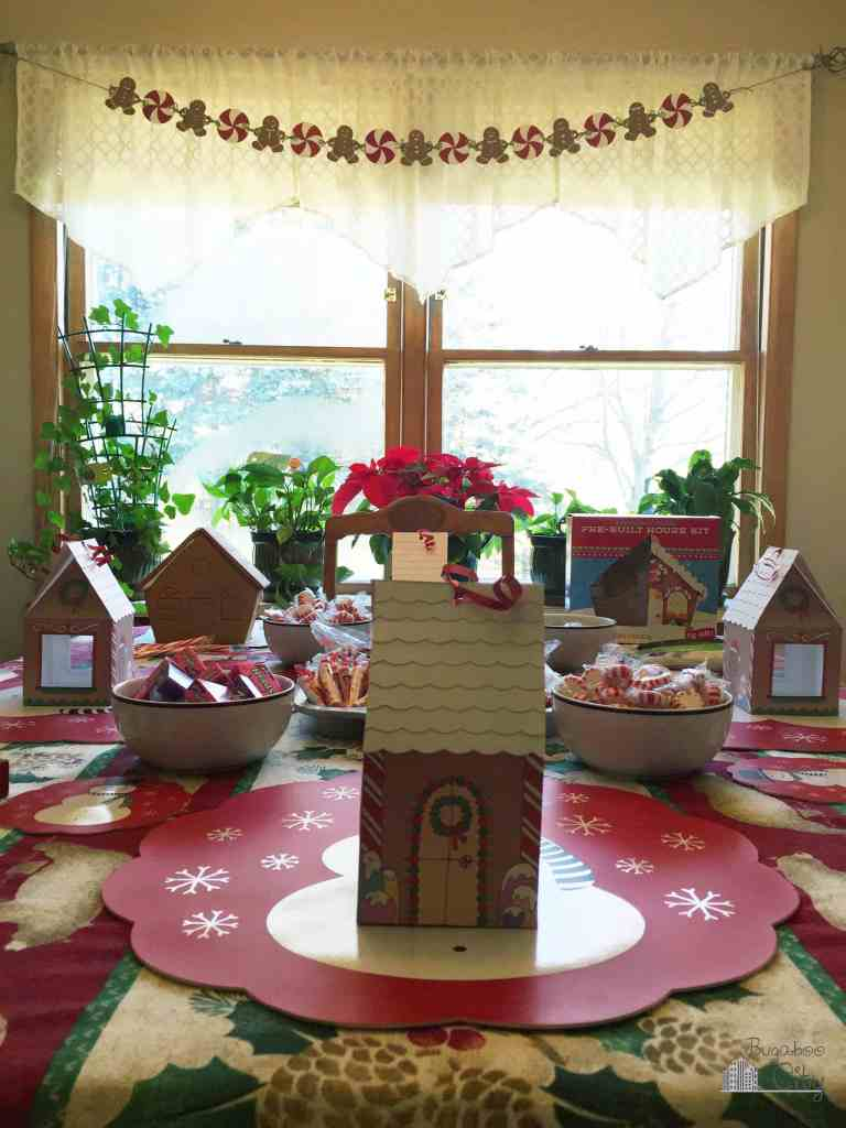 Gingerbread House Party DIY Banner
