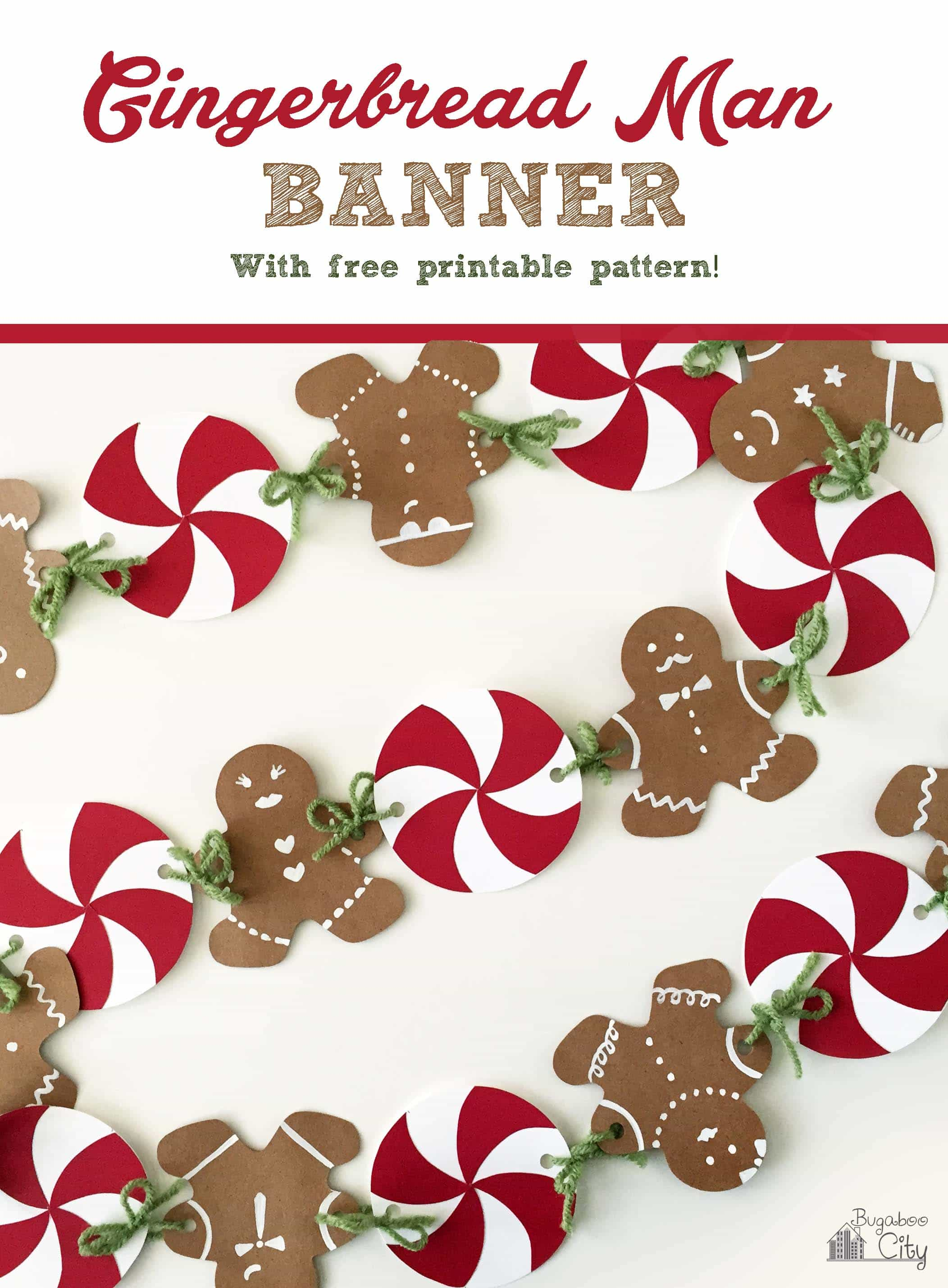 Gingerbread House Party With Gingerbread Man Banner