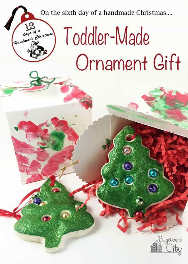 Toddler Ornament and Gift Box