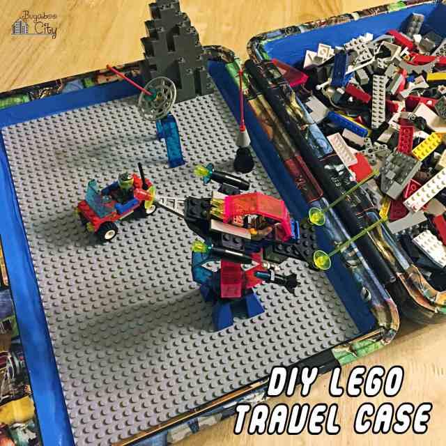 DIY Travel Lego Case Tutorial