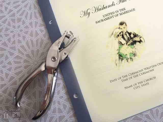 DIY Wedding Program