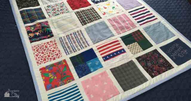Scrap Fabric Quilt
