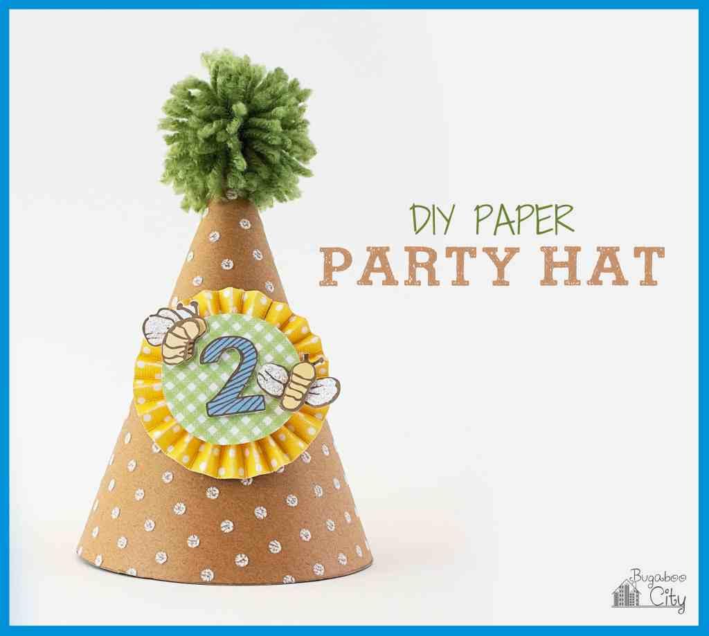 DIY Paper Party Hat