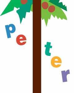 Peter Chicka Boom Artwork