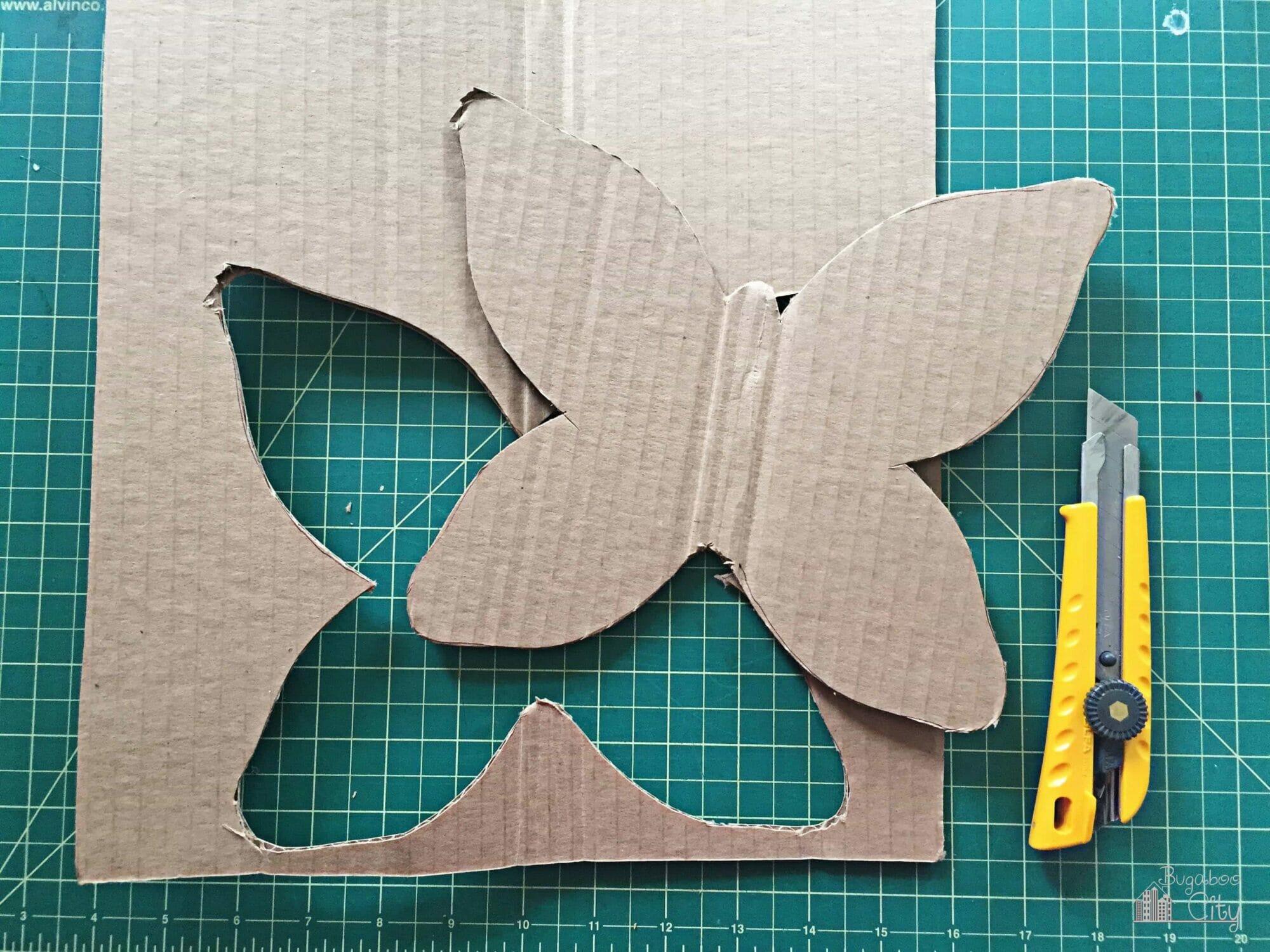 DIY Butterfly Garden Ornament - BugabooCity