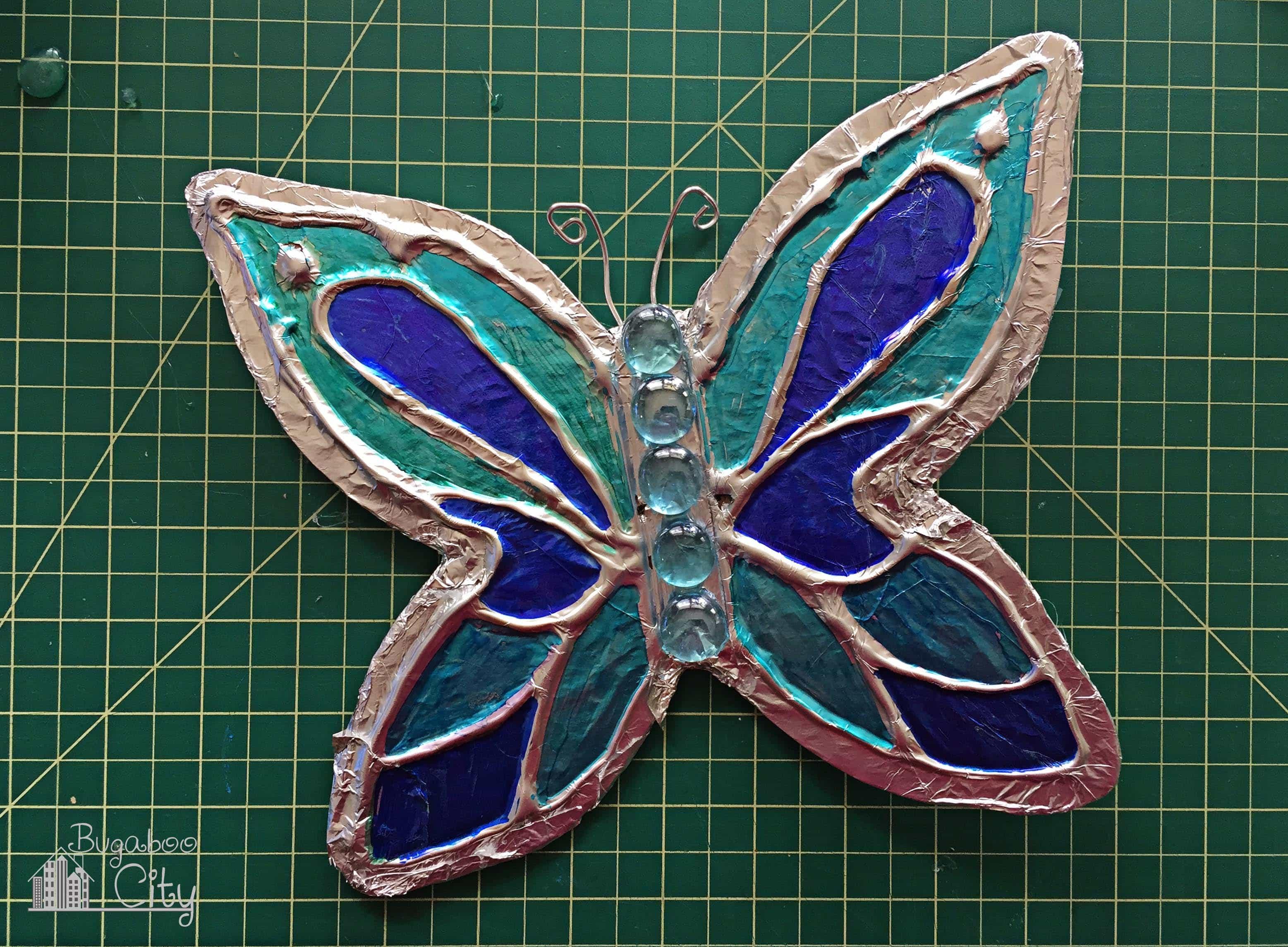Butterfly lawn ornaments - Diy Butterfly Garden Ornament