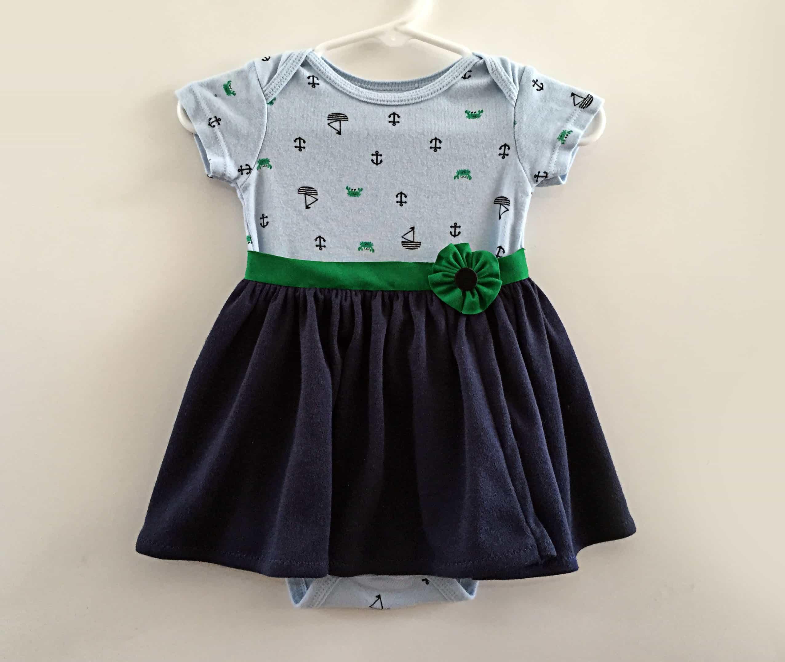Wrap Skirt Onesie Tutorial - BugabooCity