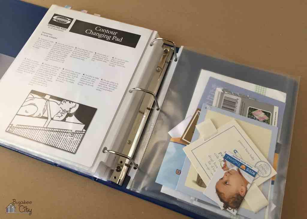 Baby Manual Binder Printables 12